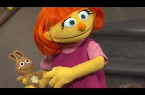 'Sesame Street' introduces new muppet with autism
