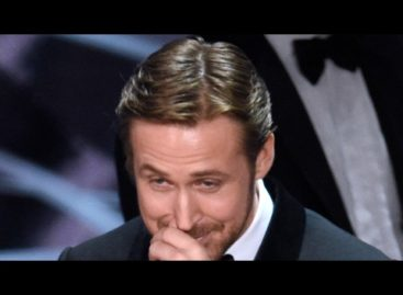 Ryan Gosling explains why he giggled his way through the Oscars mishap