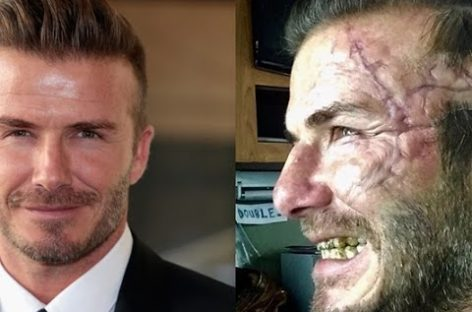 Will you recognize David Beckham in 'King Arthur?'