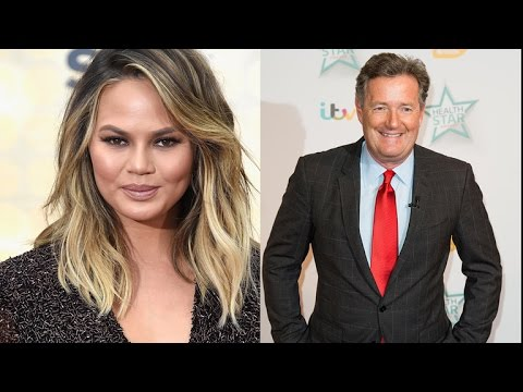 Chrissy Teigen, Piers Morgan