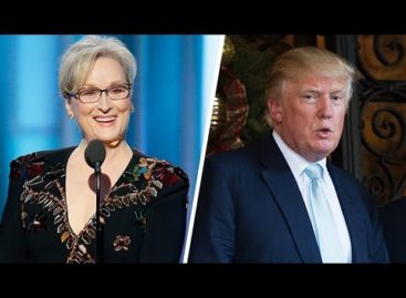 Celebrities react to Donald Trump calling Meryl Streep 'overrated'