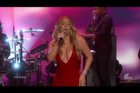 Dish in a Dash February 16: Mariah Carey performs on TV for first time since NYE debacle, 'Harry Potter' actress poses for Playboy, Drake offers to talk man off bridge and more