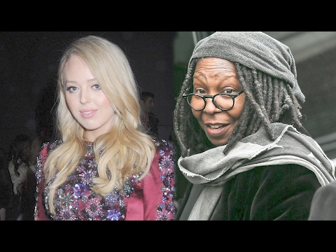 Tiffany Trump, Whoopi Goldberg