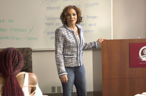 Jasmine Guy talks about her new BET series 'The Quad'
