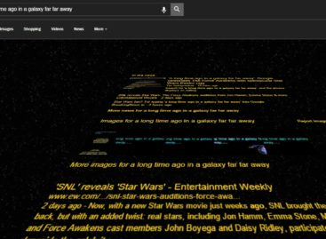 Google jumps on 'Star Wars' bandwagon with amazing Easter Egg