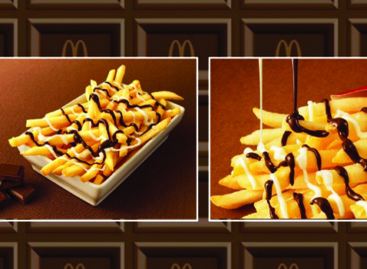 McDonald's Japan announces chocolate-covered French fries… YUM!