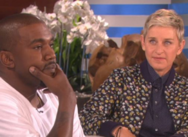Kanye West goes on rant during appearance on 'Ellen' (Video)