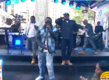 Puff Daddy and the Bad Boy Family perform a melody of hits on 'Today' (Video)