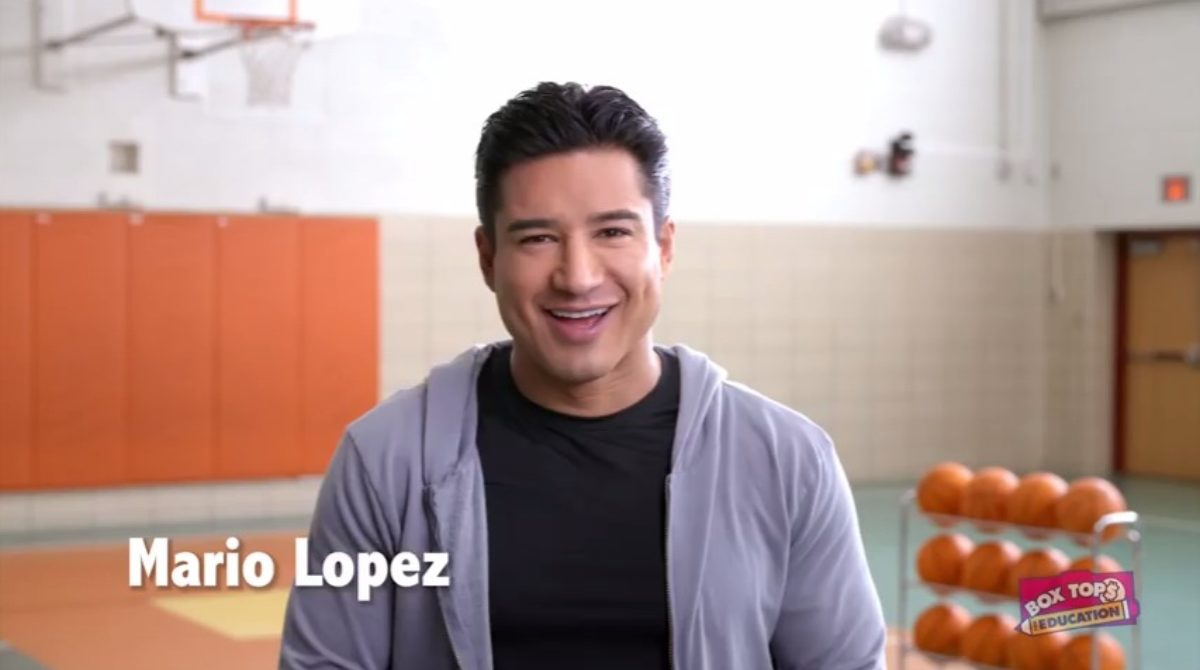 Mario Lopez goes back to school with Box Tops for Education [INTERVIEW]