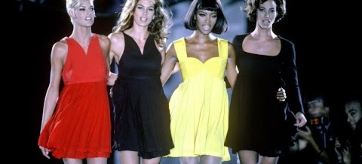 'Freedom 90' supermodels pay tribute to the late George Michael
