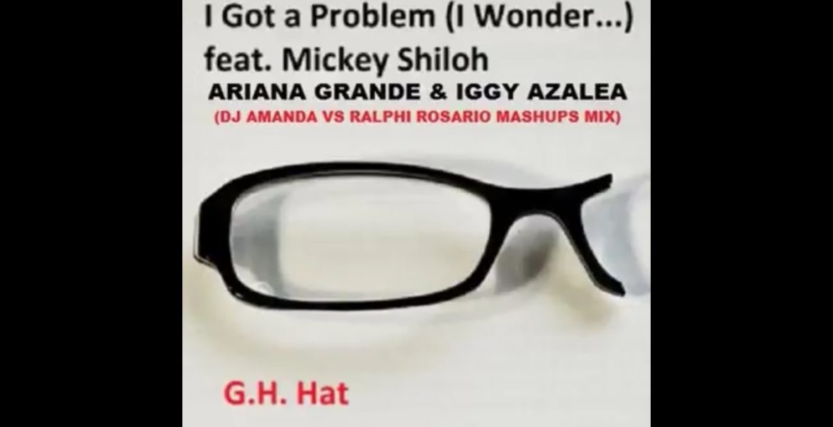 """I Got A Problem (I Wonder)"" Single Cover Art, G. H. Hat, Mickey Shiloh"