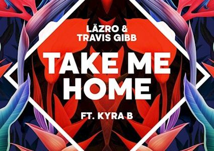 """Take Me Home"" Single Cover, Lazro and Travis Gibb"