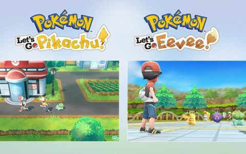 Pokemon, Let's Go, Pikachu, Eevee, Nintendo Switch