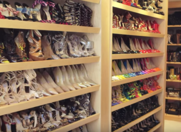 10 celebrities' closets that will blow your mind