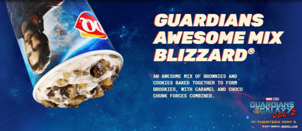 DQ, Blizzard, Guardians of the Galaxy