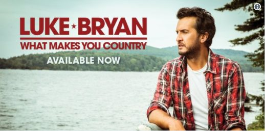 luke bryan, what makes you country, country, billboard